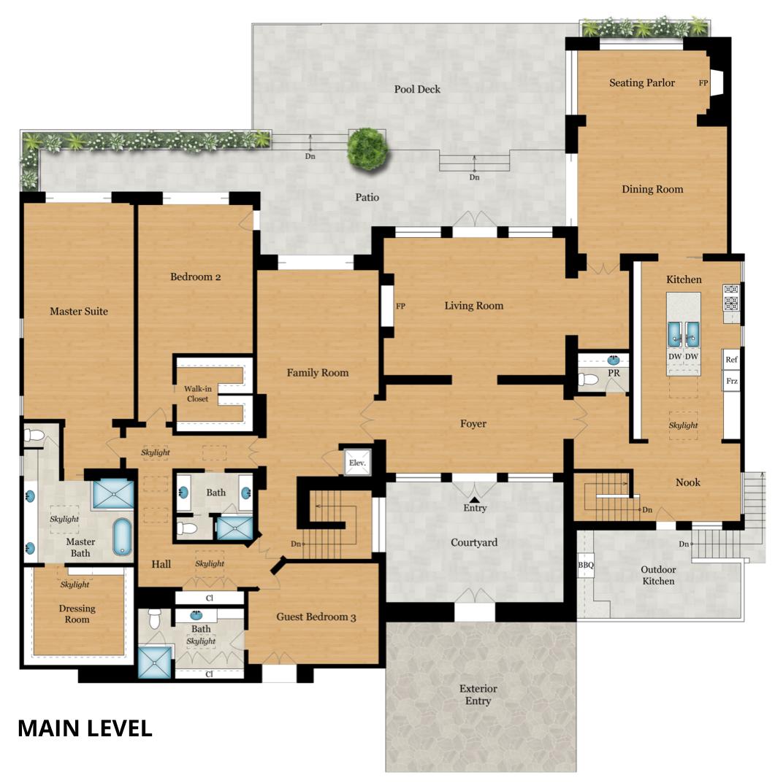 8350 Calle Del Cielo floor plan